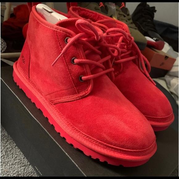 UGG Shoes | Red Uggs | Poshmark